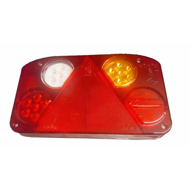 Godt Komplet LED trailer baglygte, Venstre, 12/24 Volt - Baglygter EX14