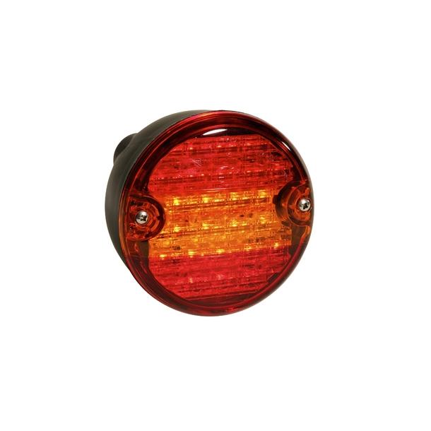 Fantastisk Baglygte Rund LED TH45