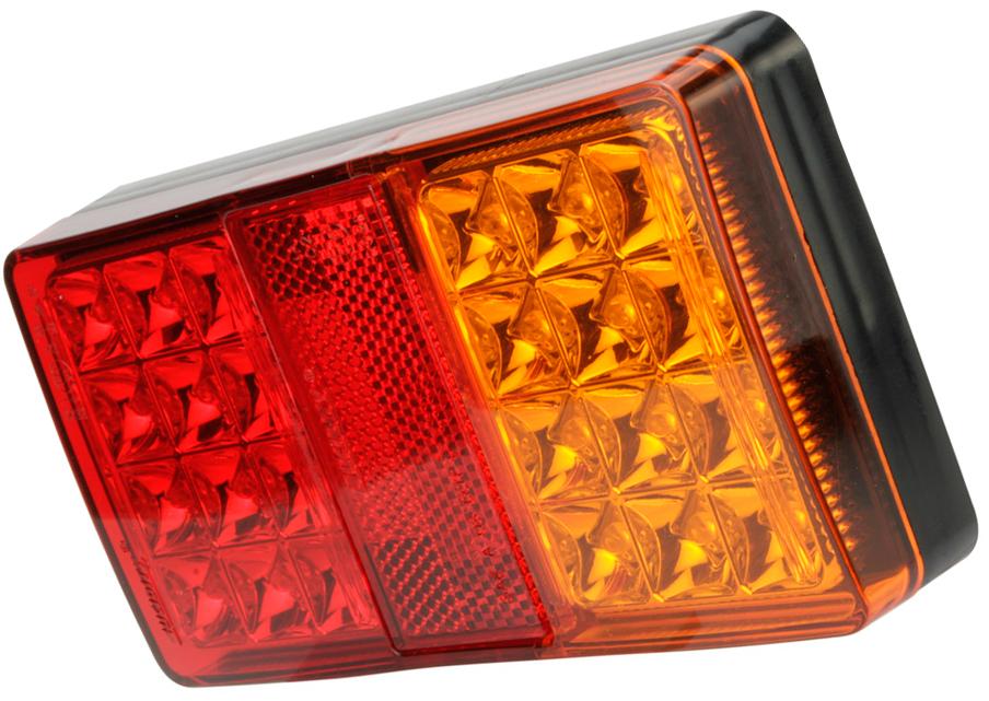 Utroligt LED trailer baglygte | Komplet multifunktions LED trailer baglygte NG92
